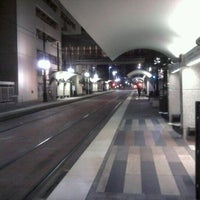 Photo taken at St. Paul Station (DART Rail) by Steven G. on 11/2/2011
