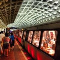Photo taken at McPherson Square Metro Station by Simon P. on 7/29/2012
