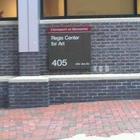 Photo taken at Regis Center for Art by Vicki G. on 3/2/2012