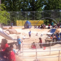 Photo taken at Woodland Discovery Playground @ Shelby Farms by Lynette QueenofSpades W. on 4/6/2012