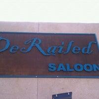 Photo taken at Derailed Saloon by Lauren B. on 11/19/2011