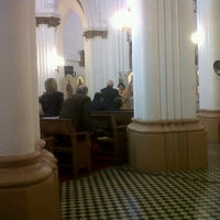 Photo taken at Iglesia San Nicolas by lorena b. on 9/18/2011