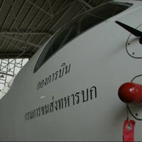 Photo taken at กองการบิน ขส.ทบ. by sarene s. on 9/8/2012