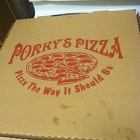 Photo taken at porky pizza by Jamie L. on 8/6/2012