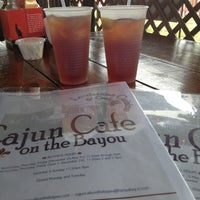 Photo taken at Cajun Cafe On The Bayou by Numwhan W. on 5/13/2012