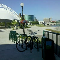 Photo taken at RiverScape MetroPark by JC H. on 6/8/2012