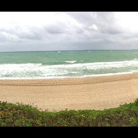 Photo taken at Lauderdale-By-The-Sea by Frank M. on 2/4/2012
