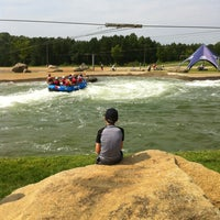 Photo taken at U.S. National Whitewater Center by Chuck J. on 8/18/2012
