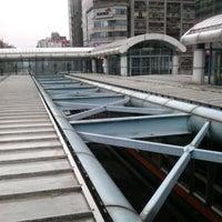 Photo taken at MRT Daan Station by Birgit L. on 4/28/2012