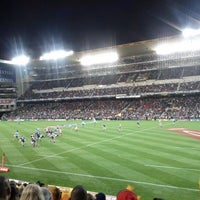 Photo taken at Newlands Rugby Stadium by Marie S. on 5/19/2012