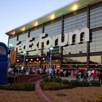Photo taken at FedExForum by Barbra M. on 5/10/2012