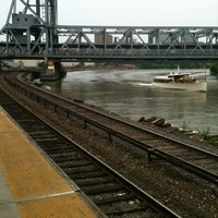 Photo taken at Metro North - Marble Hill Train Station by Josh C. on 5/26/2012
