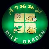 Photo taken at Milk Garden by Aek S. on 4/15/2012
