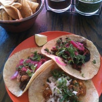 Photo taken at La Lucha - Tacos & Boutique by Wayne S. on 3/9/2012