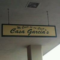 Photo taken at Casa Garcia's Mexican Restaurant by Zom B. on 2/12/2012