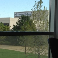 Photo taken at College of DuPage by Mike C. on 9/7/2012
