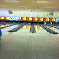 Photo taken at Continental Lanes by Brian S. on 5/12/2012