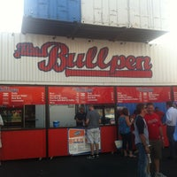 Photo taken at The Bullpen at Half Street Fairgrounds by Gavin O. on 7/17/2012