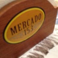 Photo taken at Mercado 153 by KatCris S. on 4/9/2012