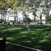Photo taken at 101 Street Soccer Field by Joanna P. on 10/2/2011