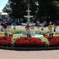 Photo taken at Saratoga Race Course by Kyle on 8/8/2012