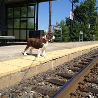 Photo taken at SEPTA Pennbrook Station by Royce on 6/7/2012