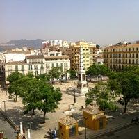 Photo taken at Plaza de Maria Guerrero by Nenad V. on 8/1/2012