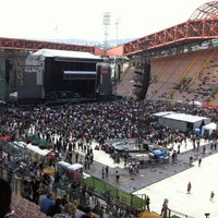 Photo taken at Stadio Nereo Rocco by Damir B. on 6/11/2012