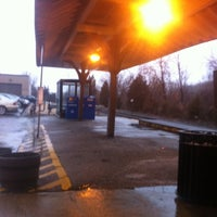 Photo taken at Metro North - Derby Train Station by Francisco R. on 2/29/2012