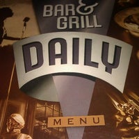 Photo taken at Daily Bar & Grill by Brad S. on 2/3/2012
