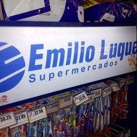 Photo taken at Supermercado Emilio Luque by Mauricio R. on 5/10/2012