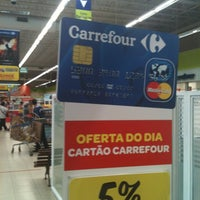 Photo taken at Carrefour by Rosane F. on 7/19/2012