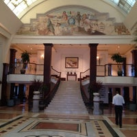 Photo taken at British Colonial Hilton by Thomas C. on 8/29/2012