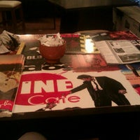Photo taken at Cafe Cine by Seher K. on 9/12/2012