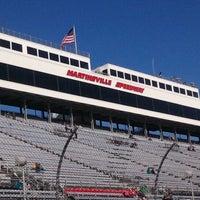 Photo taken at Martinsville Speedway by Steven S. on 10/30/2011