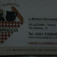 Photo taken at Trattoria alla Baracca by Daniele N. on 3/13/2012