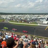 Photo taken at Pocono Raceway by Amy W. on 8/5/2012