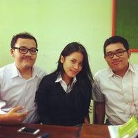Photo taken at SMAN 71 Jakarta by Dimas R. on 2/1/2012