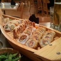 Photo taken at Wasabi Sushi Bar by Sarah R. on 10/5/2011