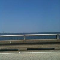 Photo taken at Lake Pontchartrain Causeway by Jolie L. on 8/27/2011