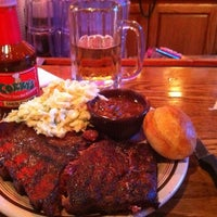 Photo taken at Corky's BBQ by Tim D. on 3/2/2012