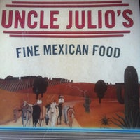 Photo taken at Uncle Julio's by Grant S. on 6/6/2011