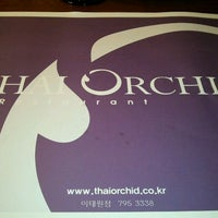 Photo taken at Thai Orchid by Jonathan C. on 11/6/2011