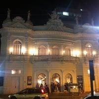 Photo taken at Teatro Carlos Gomes by Genarino F. on 7/28/2012