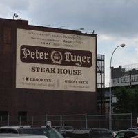Photo taken at Peter Luger Steak House by Sonny V. on 6/8/2012