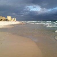 Photo taken at Destin Beach by Bill W. on 11/3/2011