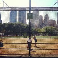 Photo taken at Heckscher Field by Tyler H. on 8/16/2012