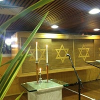 Photo taken at Sinagoga da Hebraica by Jose Luiz G. on 3/30/2012