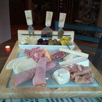 Photo taken at Aspen Peak Cellars Tasting Room by Kristina Y. on 2/12/2012