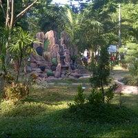 Photo taken at Taman Segitiga Macan by agnatika d. on 9/8/2012